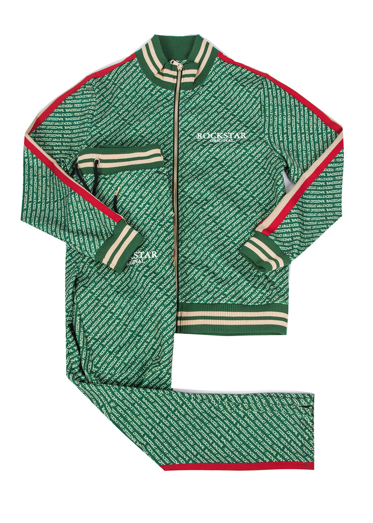 Arad (Green) Track Suit