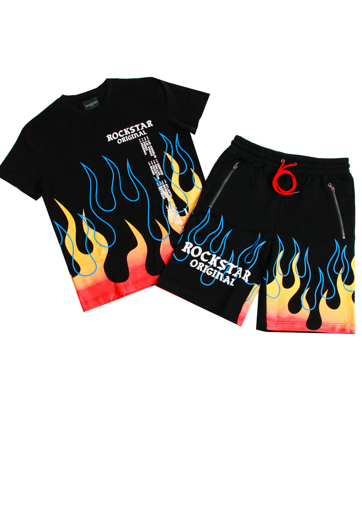 Azak Short Set (Black)