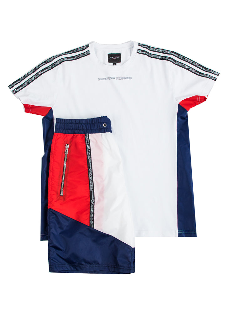 Balvin Short Set (White)