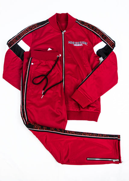 Beck 3.0 (Red) Track Suit