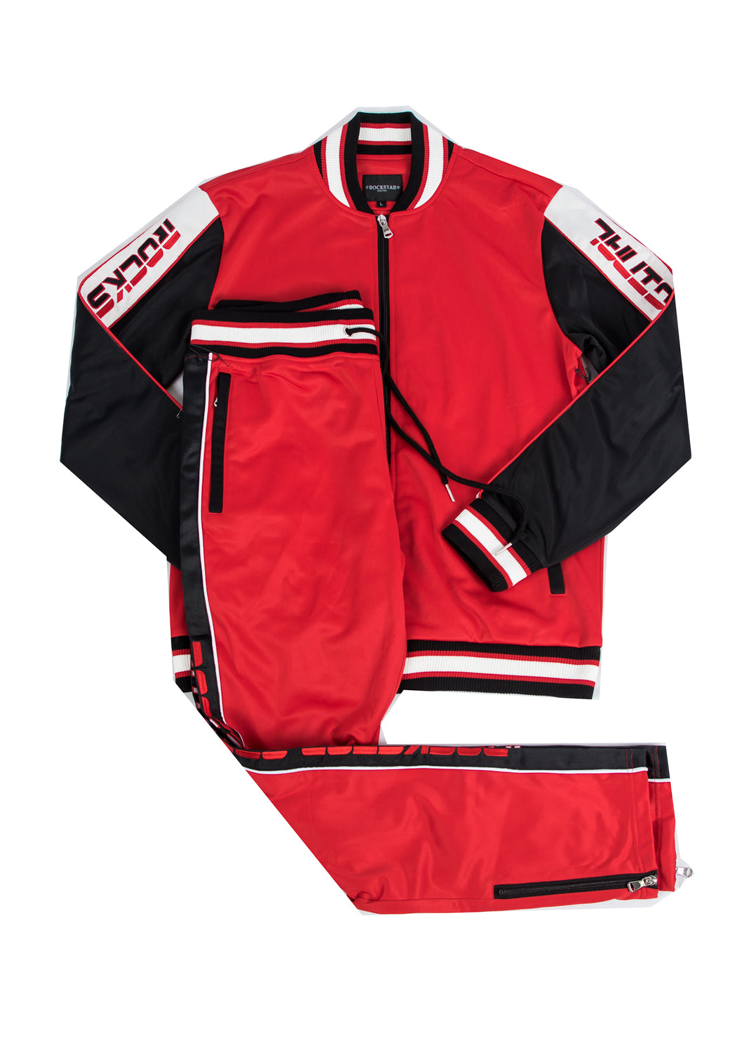 Kids Beck 4.0 (Red) Track Suit