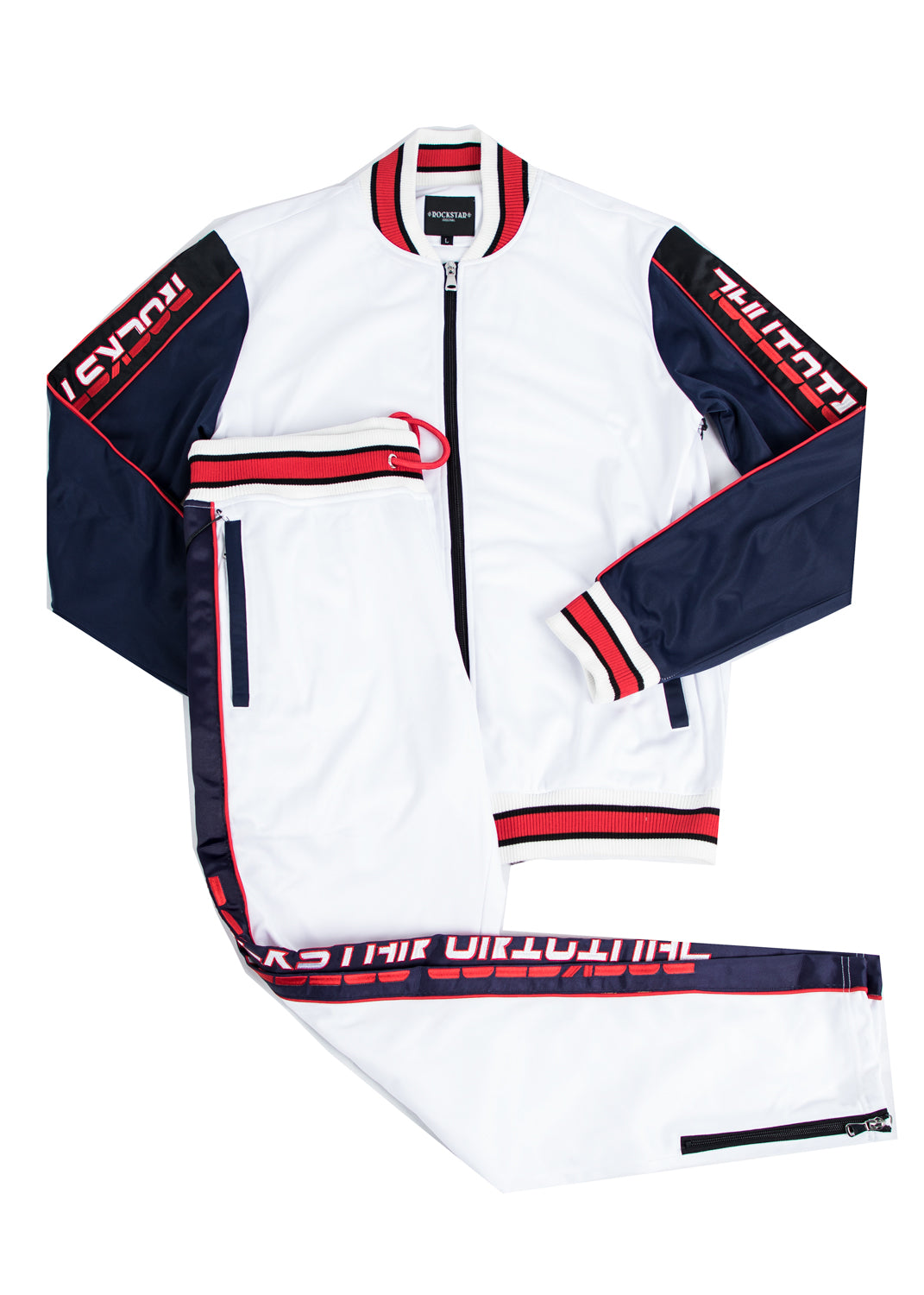 Kids Beck 4.0 (White) Track Suit