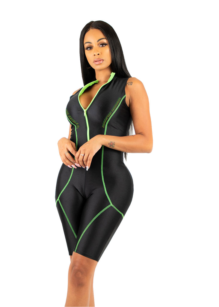 Jackie Sport - Black/Lime
