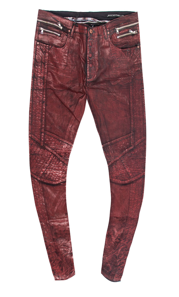 Creed Red Denim Jeans (Outlet)