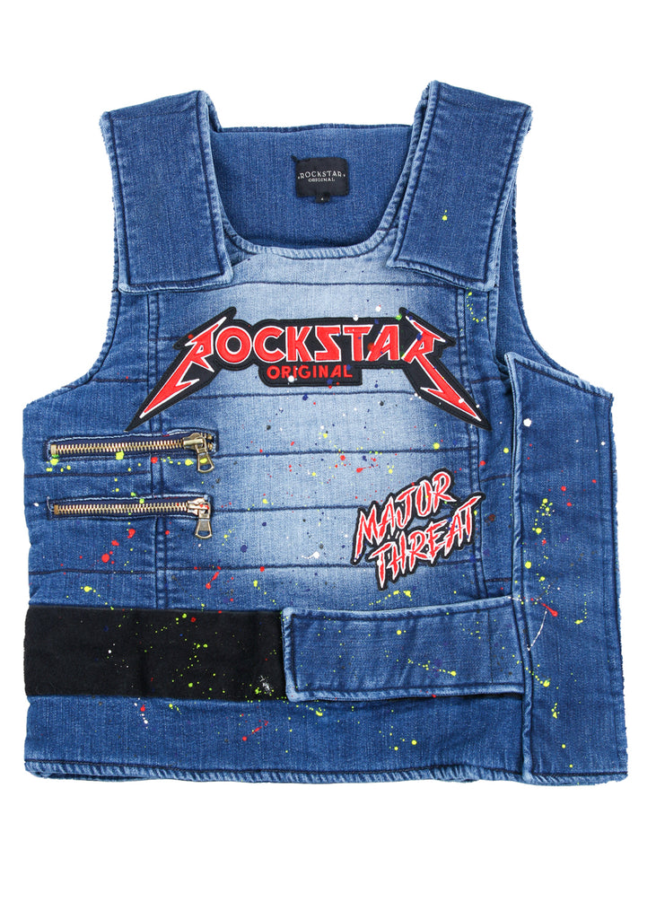 D-Roc Denim Vest (Blue)