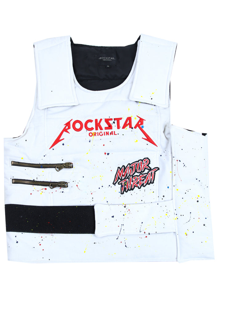 D-Roc Denim Vest (White)