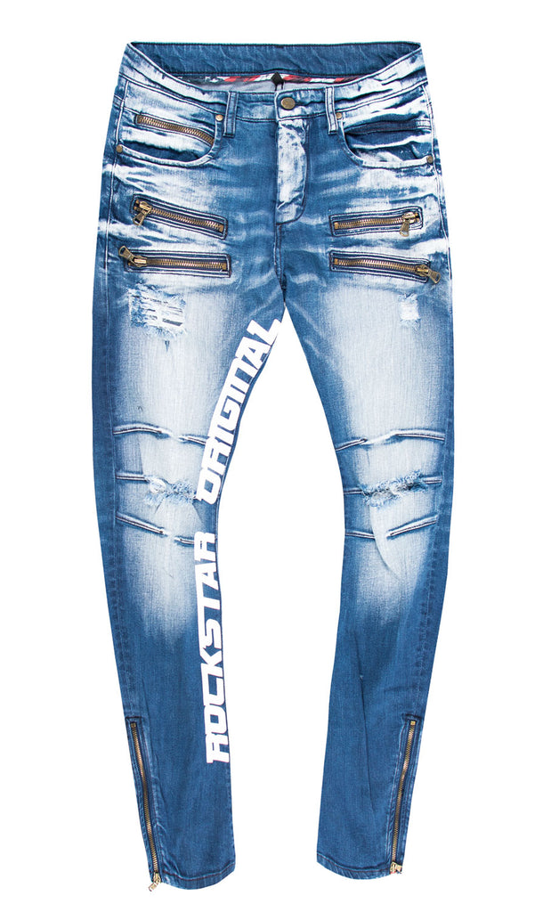 Ely (Blue/White) Jeans