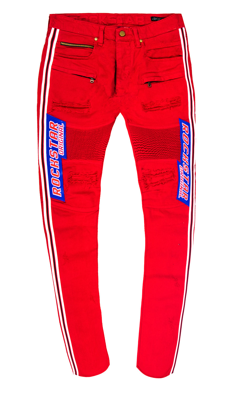 Elliott BIKER JEANS (Red)