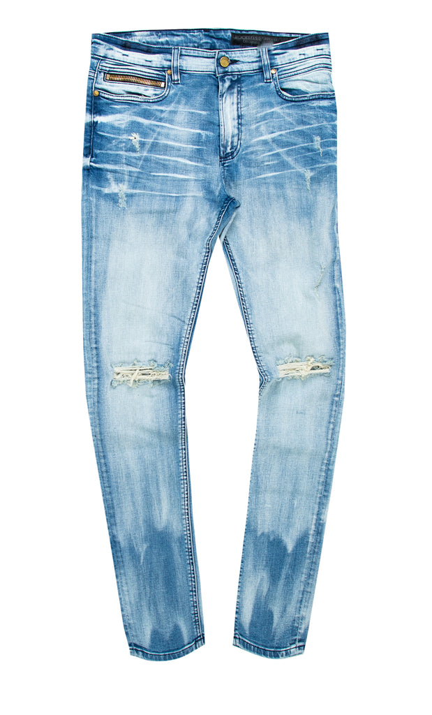 Fabe (FRENCH) Blue Pants