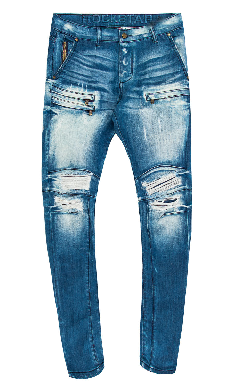 Flow 2.0 Blue Biker Jeans (Outlet)