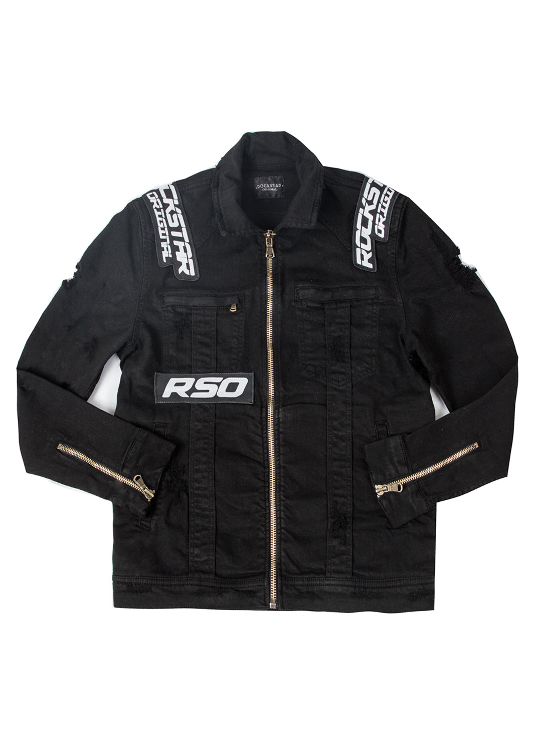Flow Biker Jacket (Black)