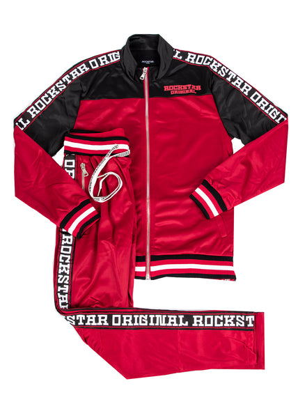 Henry (Red) Track Suit