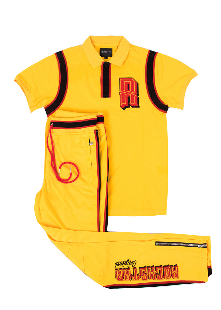 Horus (Yellow) Polo Set