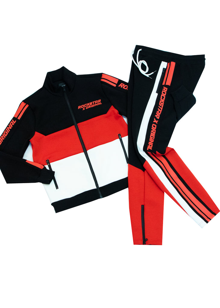 Jalen Track Suit (Black)