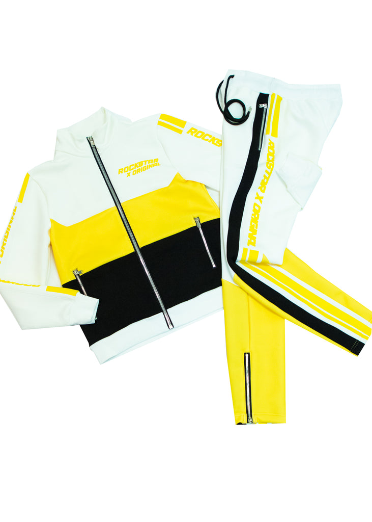 Jalen Track Suit (Yellow)