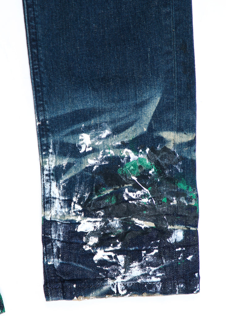 Kodak Tie Dye Painted Pant (Green)