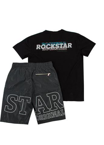 Logan Short Set (Black)