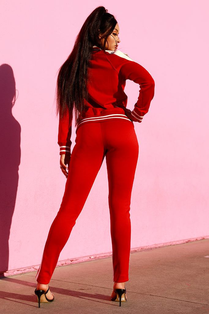 MONICA 2.0 SET - RED/WHT