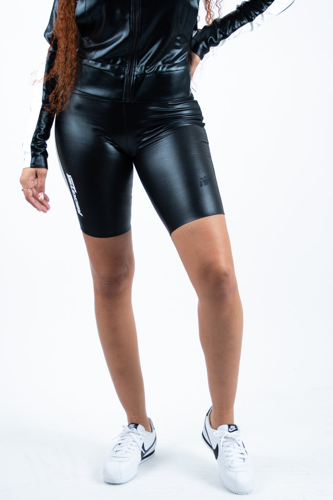 Billie B. Short Set - Blk. Coated