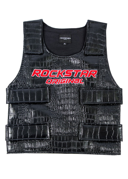 Rikki Alligator Vest (Black)