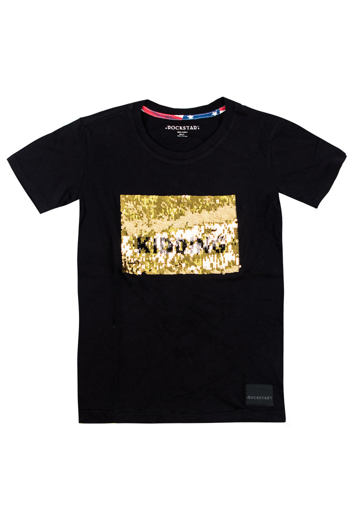 1017 Shirt Sequin (Black)