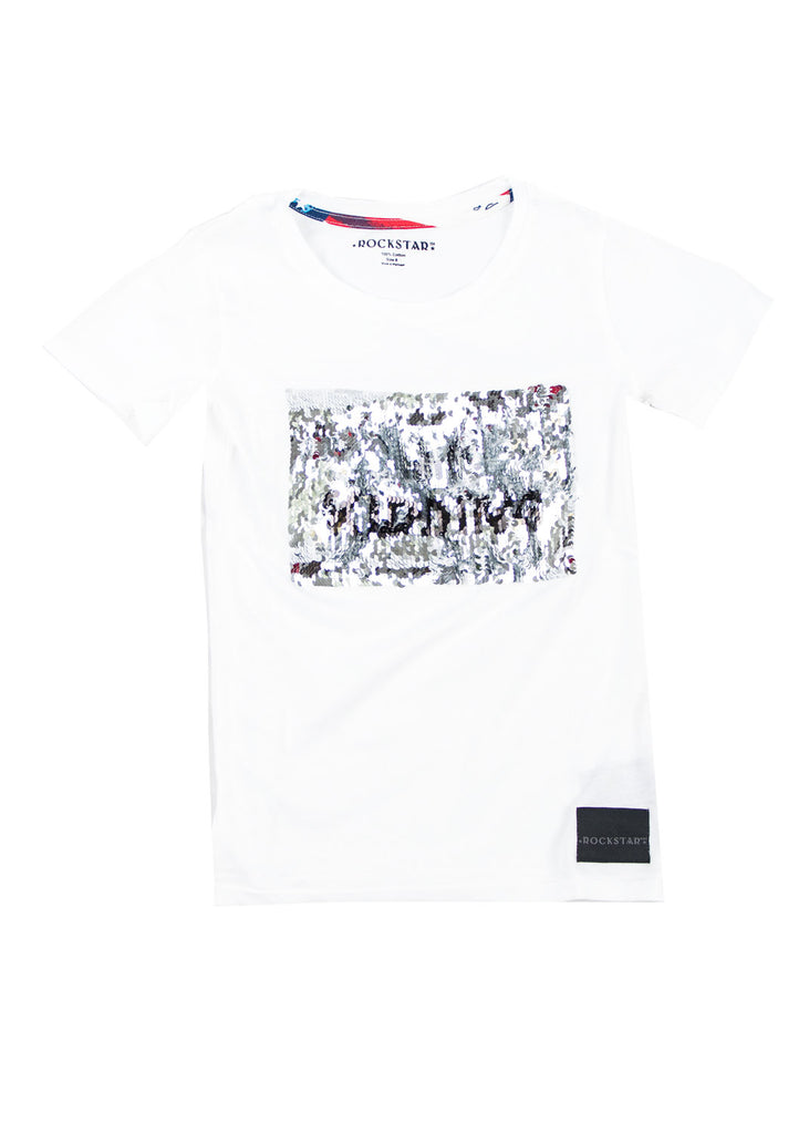 1017 Shirt Sequin (White)