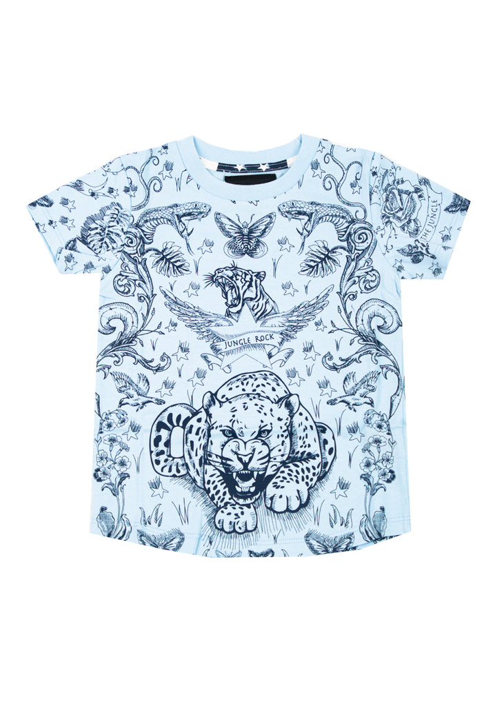 1036 Rockstar Animal T-shirt (Blue)