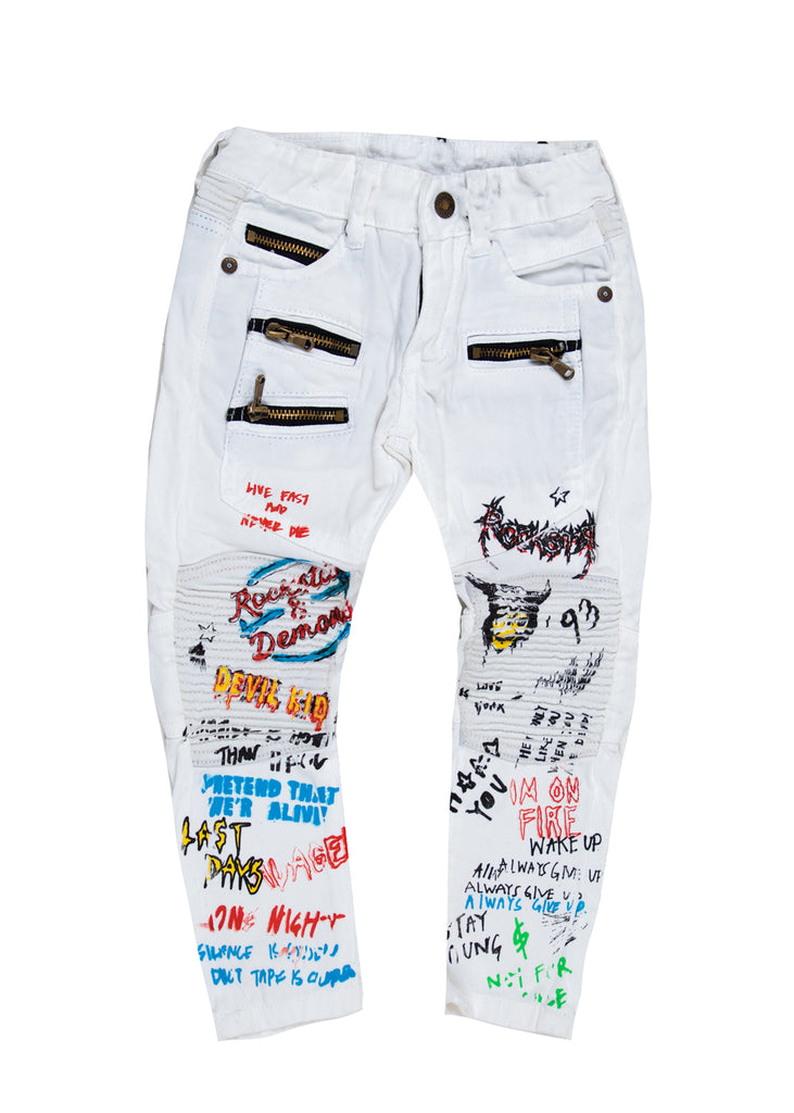 Zion White Pants (Kids)