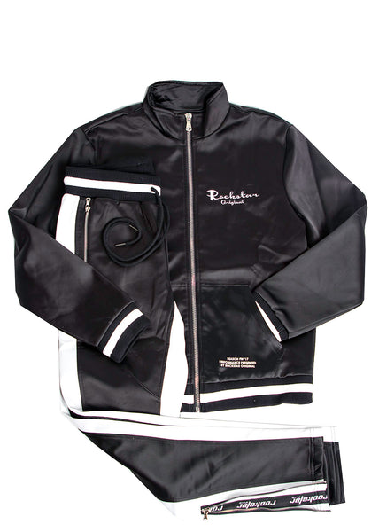 Idris (Black) Track Suit