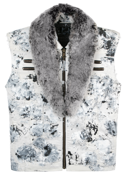 Larry Black Vest