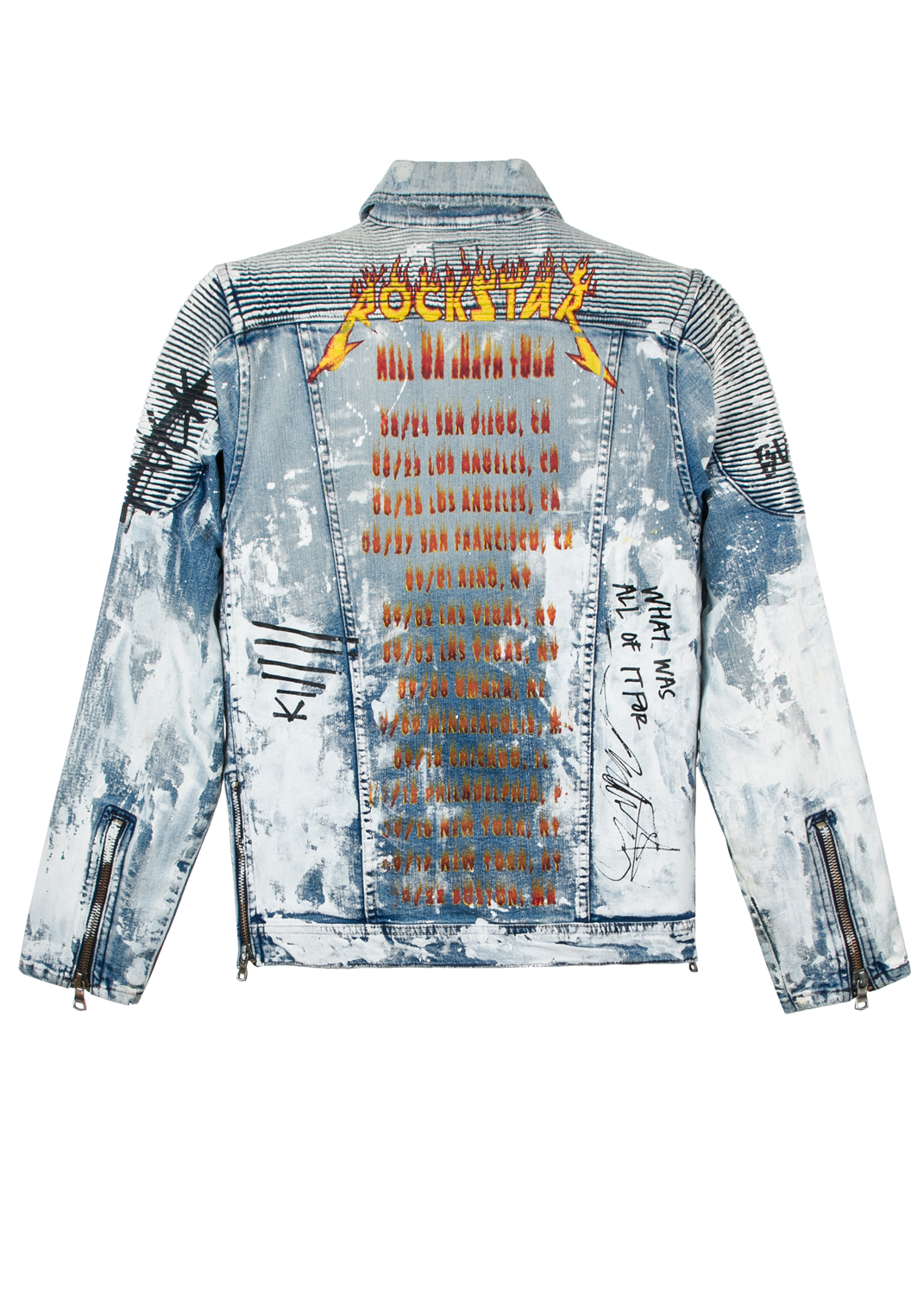 Jay Biker Denim Jacket