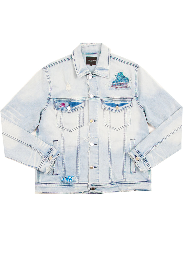 Rae Crystal Jacket (Blue)