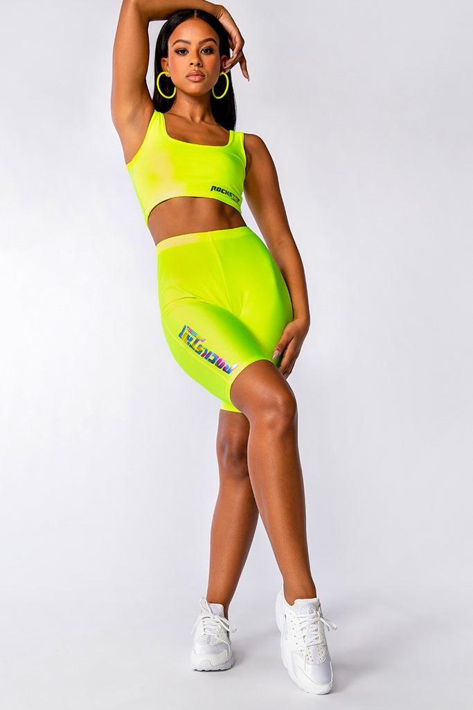 RINA SHORT SET - YELLOW