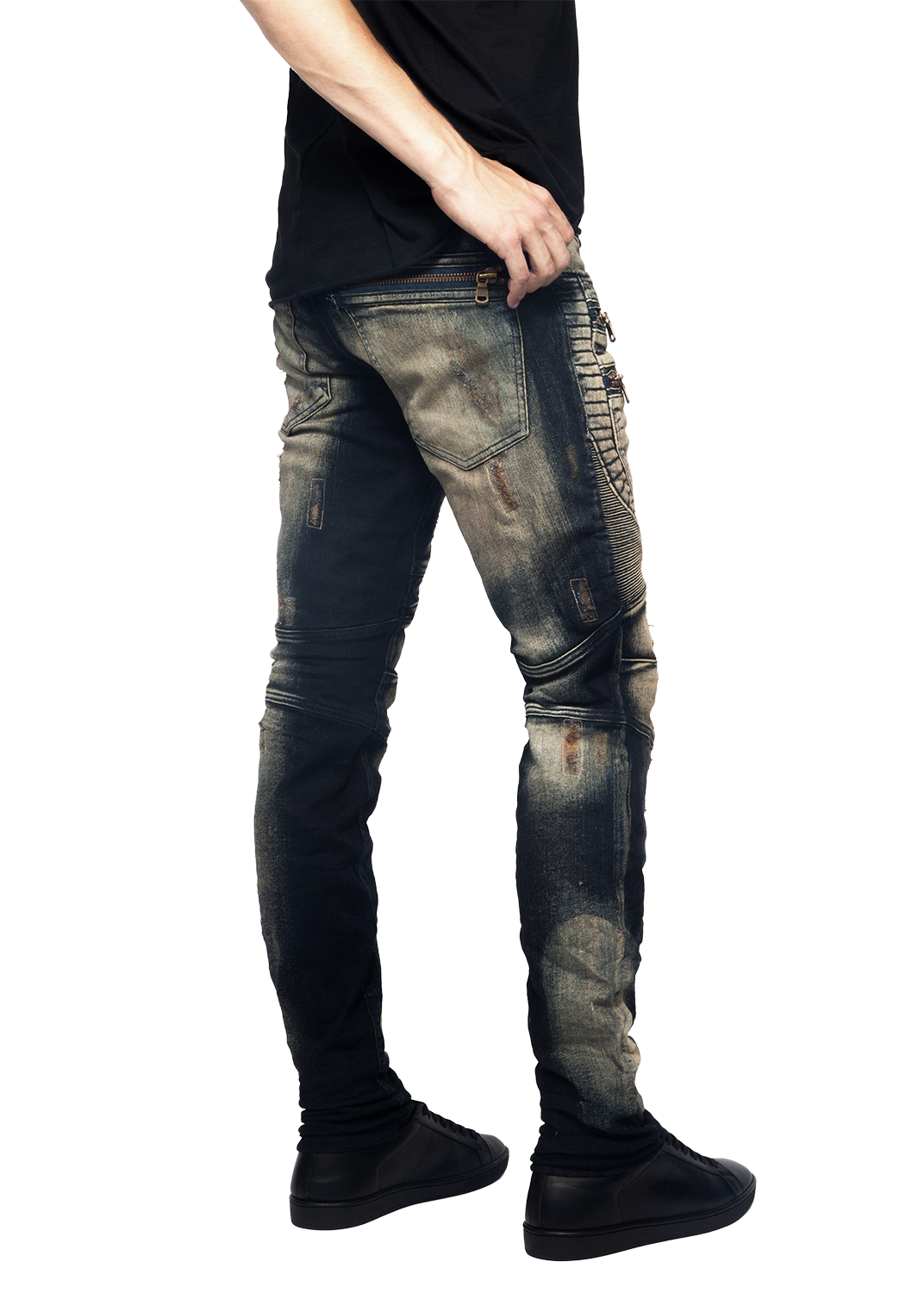 Colton Biker denim jeans