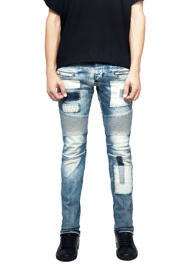 Tom (Alpha) Slim Fit Biker Jeans