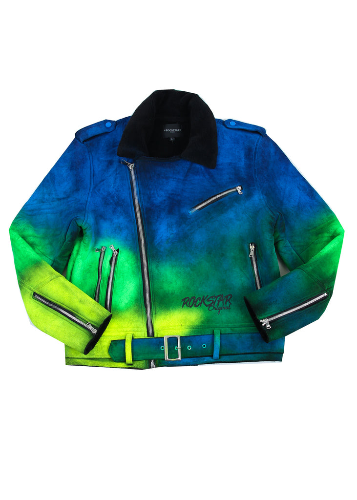Sami Ombre Jacket (Green)