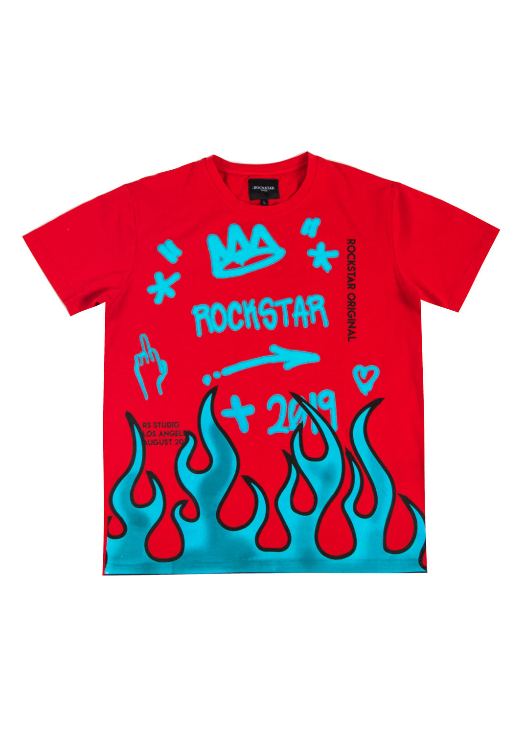 Travar T Shirt (Red)