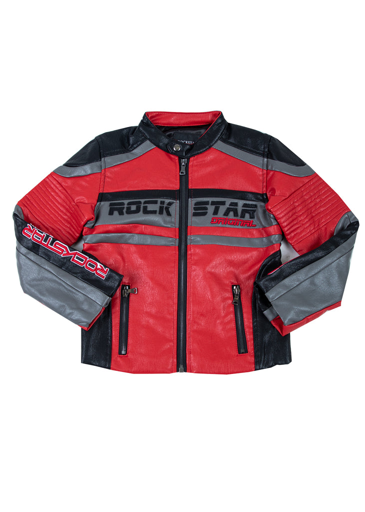 Kids Thunder Jacket (Red)