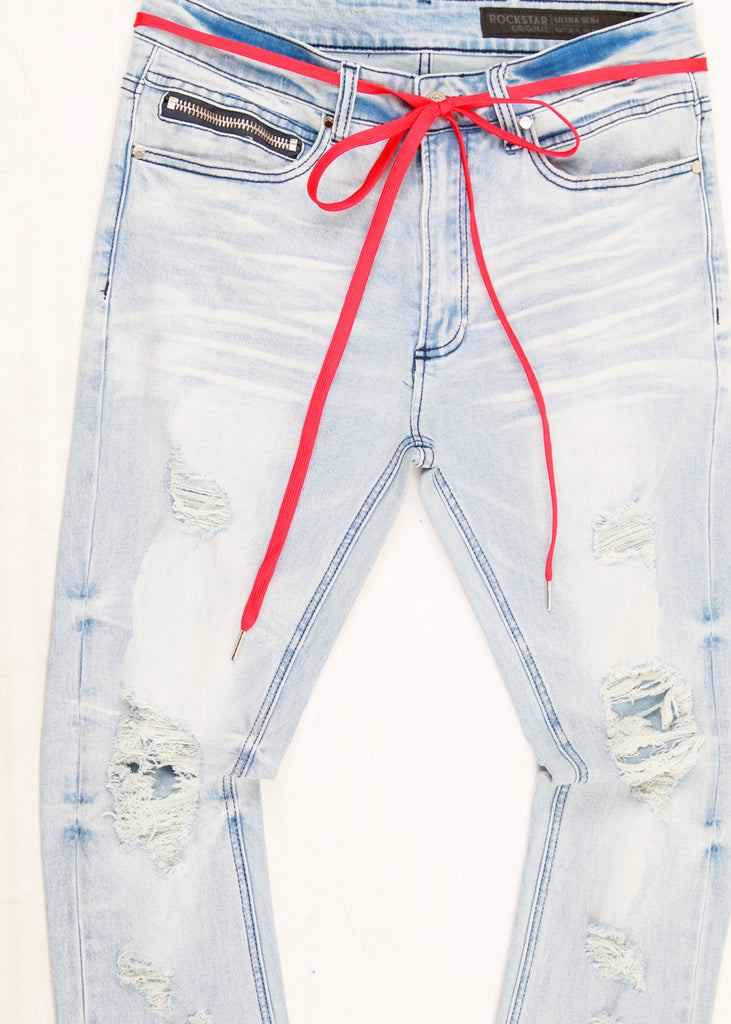 TRAE JEANS-BLUE