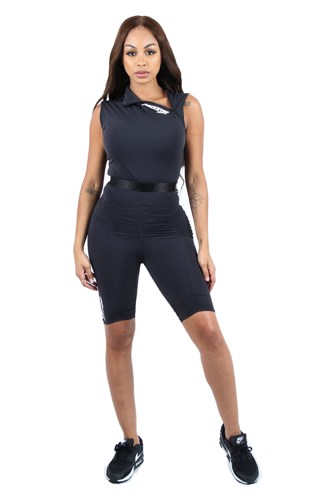 VERONICA SPORT SET - BLK