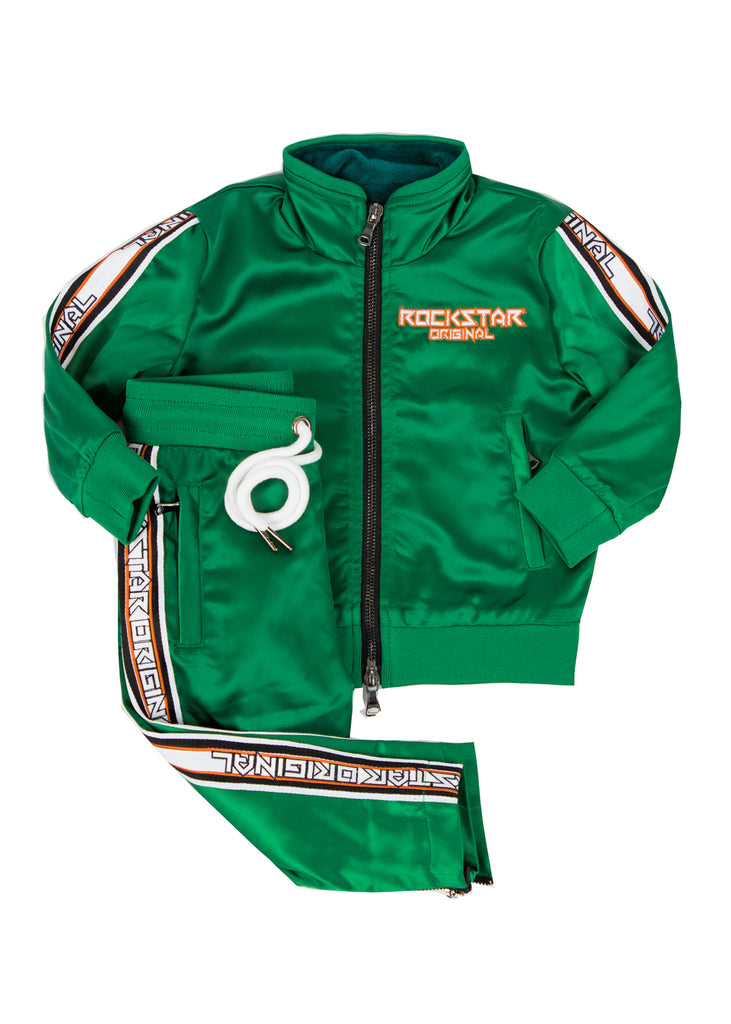 Kids Vito (Green) Track Suit