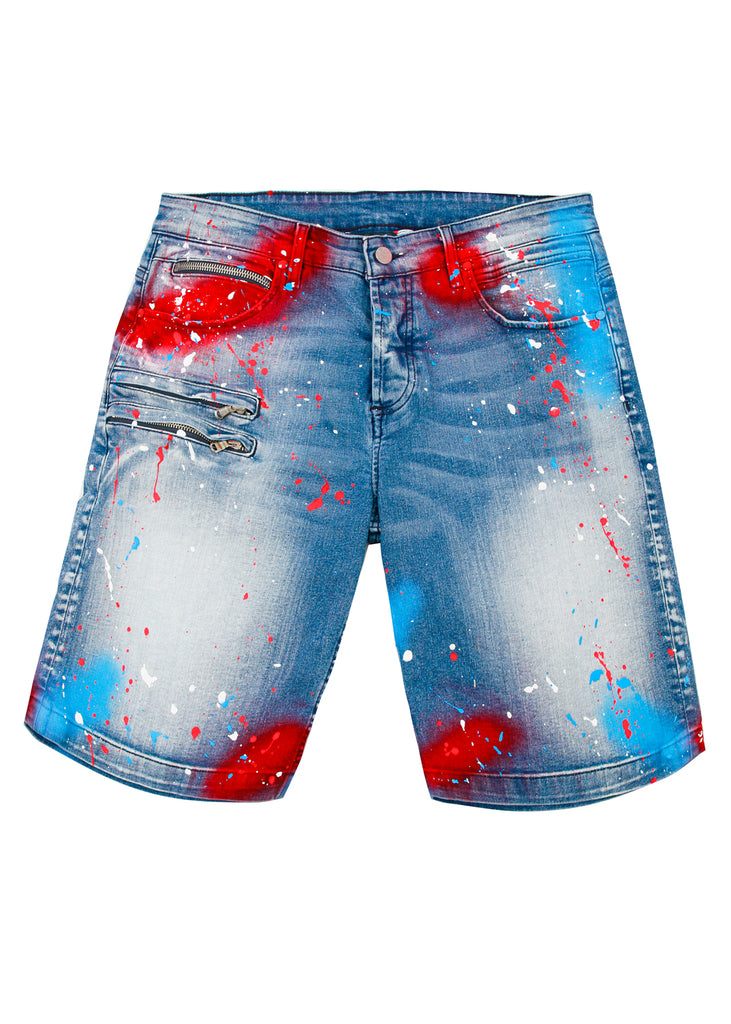 Vonte Shorts (Red)