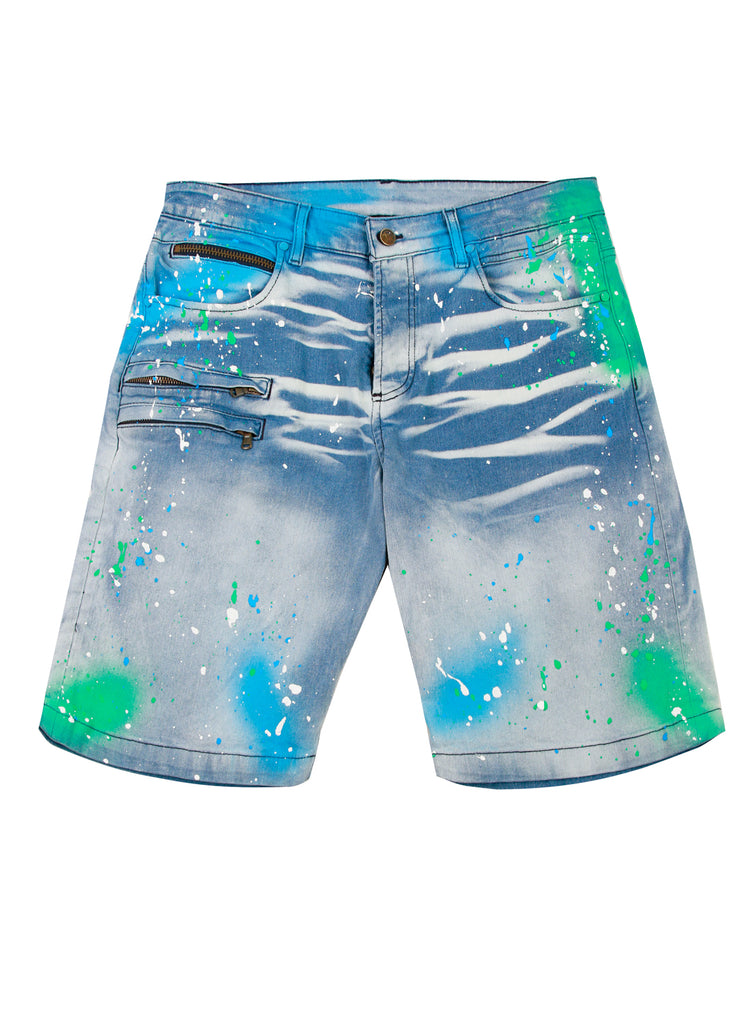 Vonte Shorts (Blue)