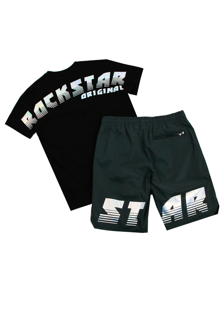 Xadrian Reflective Short Set (Black)