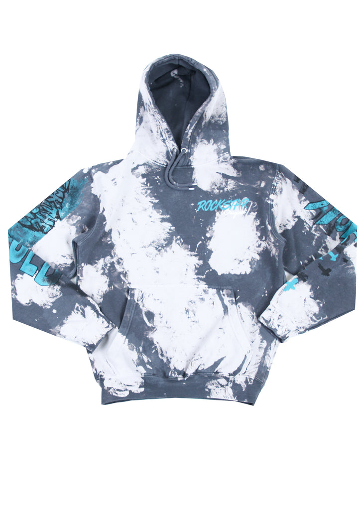 Zayden Printed Hoodie (Light Grey)