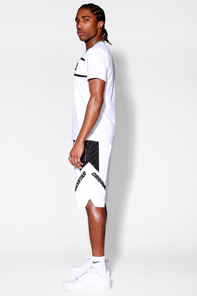 Balvin 2.0 Mens Short Set (White)
