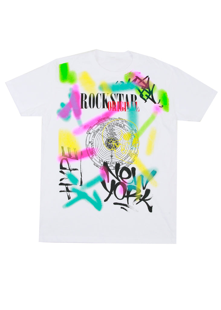 Billie Graffiti T-Shirt (White)