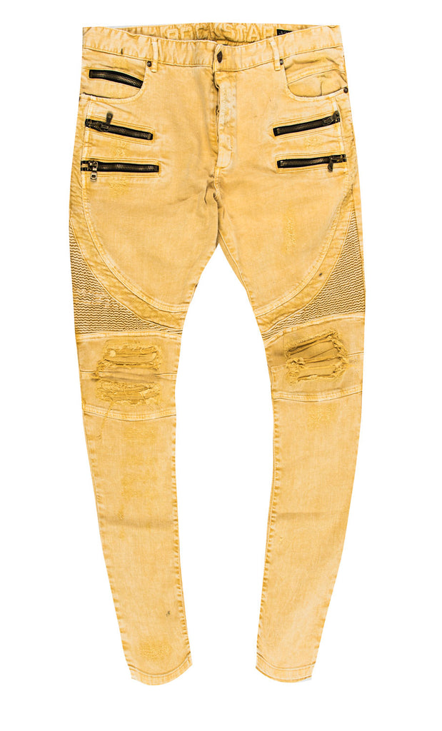 Lee Yellow Denim Jeans (Outlet)