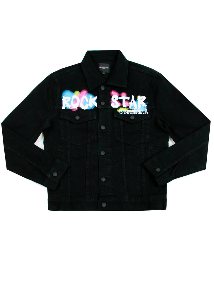 Dondi Denim Jacket (Black)