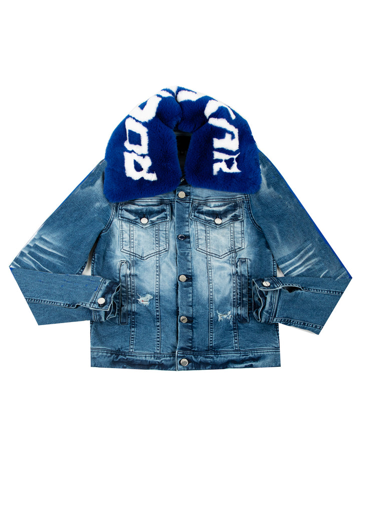 FABE Jacket (Royal) PRE ORDER 12/11 {Delivery}